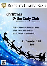Poster for Christmas @ the Cody Club